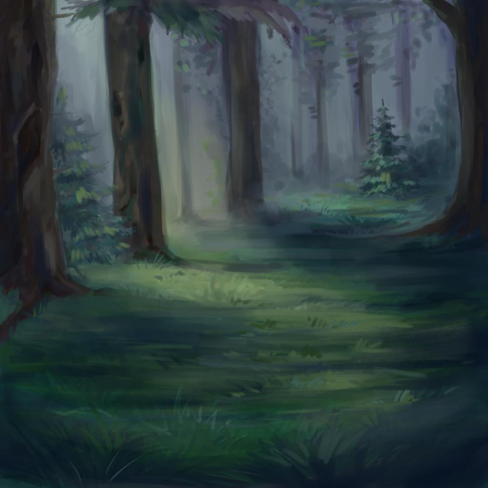 Картинки лесов котов воителей